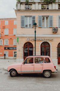 Pink Renault